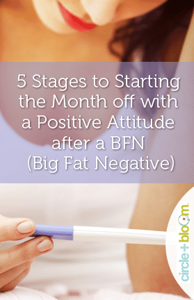 5 Stages to Starting the Month off with a Positive Attitude after a