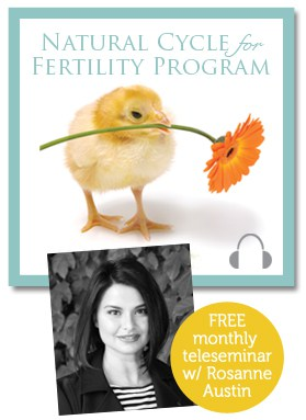 Circle+Bloom Natural Cycle for Fertility program w/ free monthly teleseminar