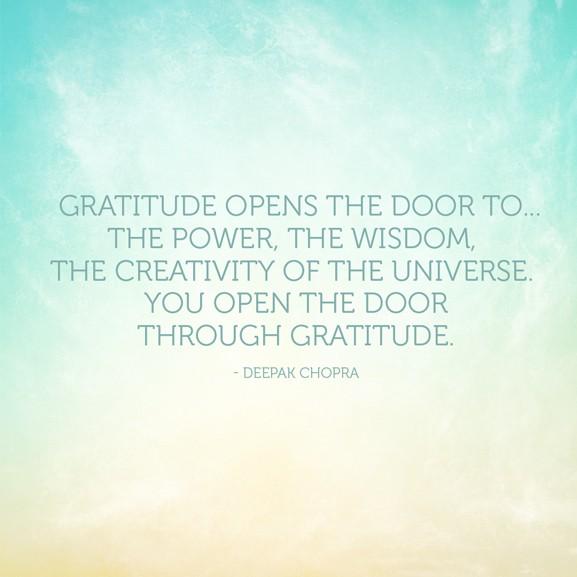 Gratitude Deepak Chopra