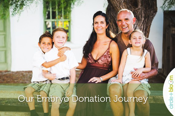 Our Embryo Donation Journey by Anabelle Petersen