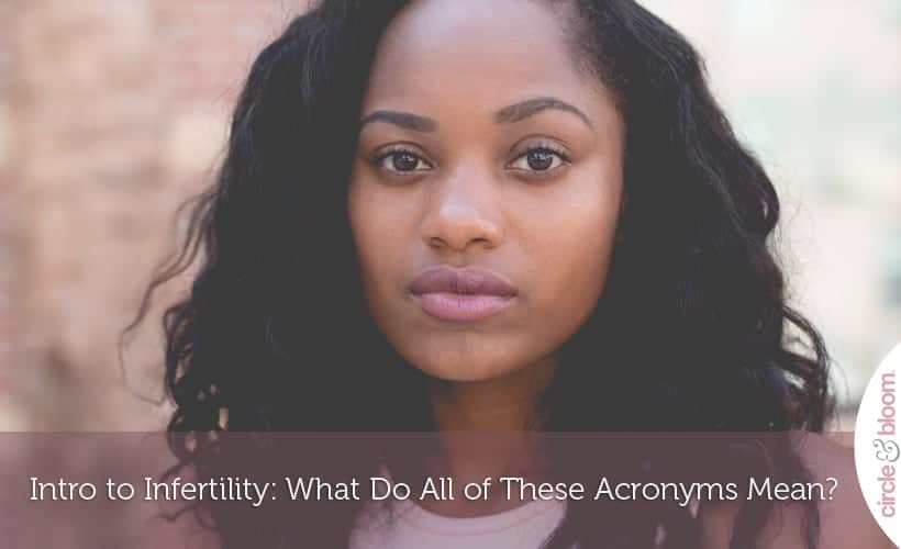 Intro to Infertility- What Do All of These Acronyms Mean?