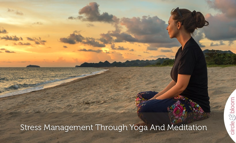 Stress Management Through Yoga And Meditation