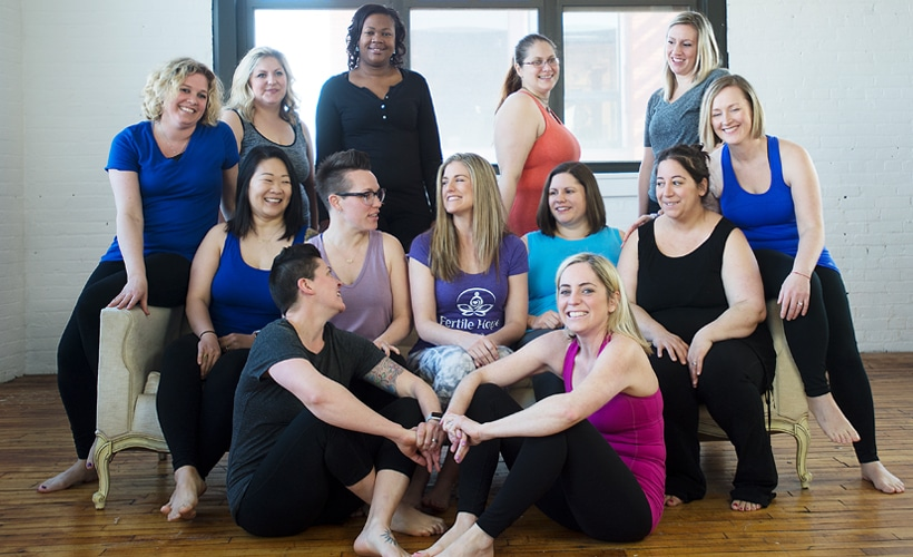 How a Yoga Community Supports Fertility